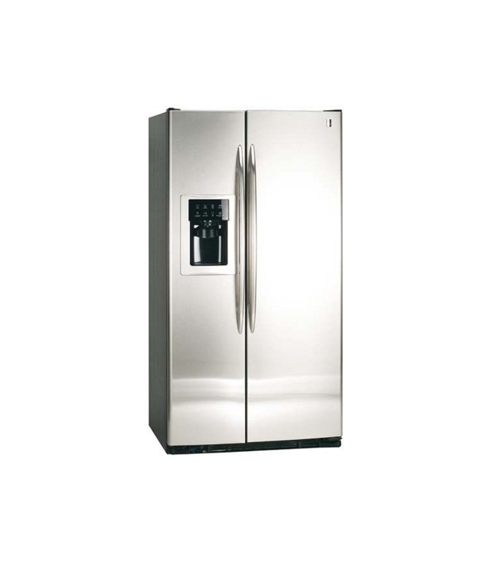 HELADERA G.ELECTRIC PKPS5 MFGDSS INOX SIDE BY SIDE NO FROST DISPENSER