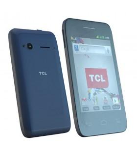 CELULAR LIBRE TCL D-35 BLUE 3,5` 4GB 2MP WIFI DUAL CORE 1.0GHZ BLUETOOTH