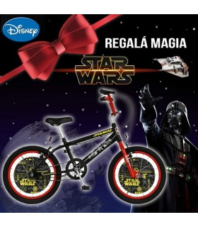 BICICLETA ENRIQUE 974 ROD.14 DISNEY STAR WARS