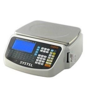 BALANZA COMERCIAL SYSTEL CUORA 33999 30KG SIN MASTIL