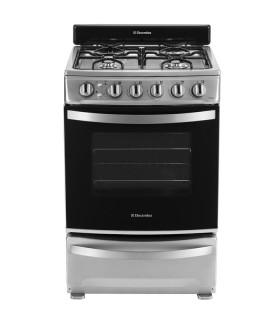 Cocina Electrolux Exmr856 Silver Doble Puerta