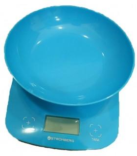 Balanza De Cocina Stromberg Bdc1 3kg Digital Con Bowl