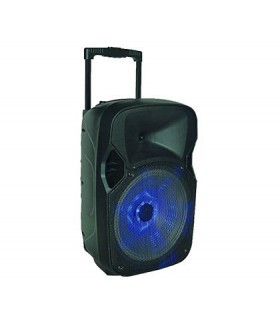 Parlante Audio Activo Tower T-500 12` 1600w.pmpo Led Bateria