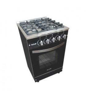 Cocina Usman Mirror 600 (302) Acero Espejada Vitrificada