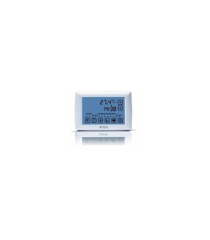 Termostato de ambiente peisa h23100 digital tactil for Termostato digital calefaccion programable