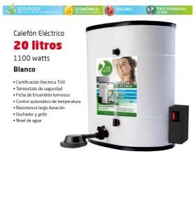 CALEFON ELECTRICO LINE HOUSE 20 LTS. BLANCO
