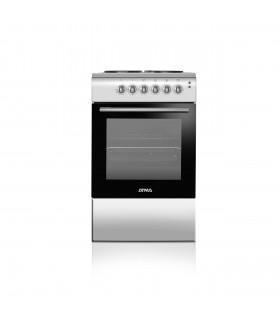 Cocina Atma Cce3110p Electrica Plata An50xpr60xal85 4 H.