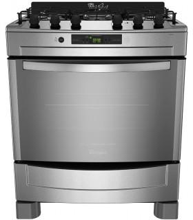 Cocina Whirlpool Wf876xg Inox. Grill Electr.76cm