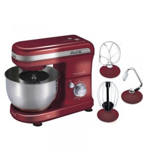 Batidora Planetaria Smart-tek Kitchen Assiste Roja 600w.