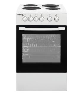 Cocina Electrica Fagor Ec-fa50bl Bco. 4 Placas 50*50