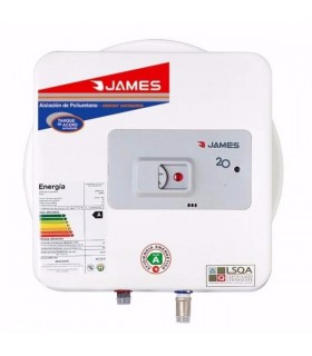 Termotanque Electrico James 20 Lts. Prisma 1500w.