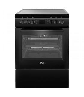 Cocina Electrica Atma Cce3220n  Vitr.neg. Al85 An60 Pr60