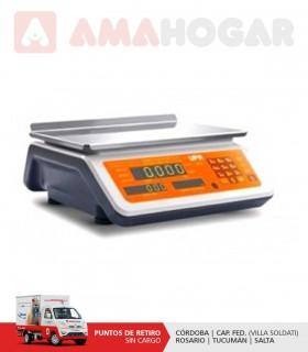 Balanza Comercial Upa (systel)35080 15kg.s/mastil C/bat. Res10gr