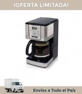 Cafetera Oster 4401 12 Tazas Programable Acero
