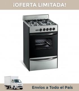 Cocina Longvie 13331 Xf Inox. Luz Y Enc