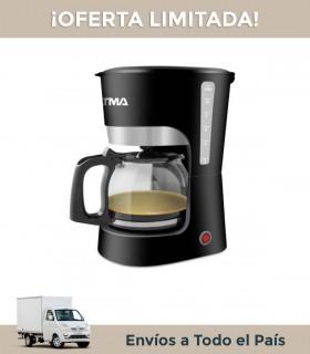 Cafetera Atma Ca 8143n 12 Pocillos 1.5l Negra