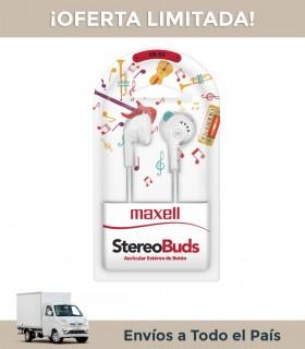 Auricular Maxell Eb-95 Blanco In Ear C/cable