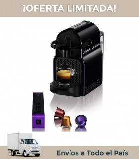 Cafetera Nespresso Inissia Black D40-ar-b-ne