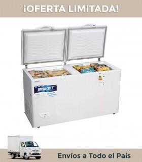 Freezer Horizontal Briket Fr 4500 400lts Doble Tapa