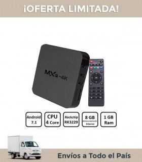 Smarter Tv Box Zenei Mxq Pro Android 4k 1gb 8gb