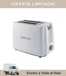 Tostadora Smartlife T01301w White 2 Rebanadas-6 Niveles Blanca
