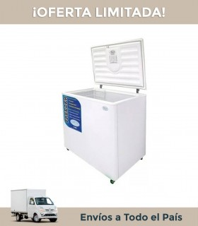 Freezer Horizontal Fam F150 Dg 143lts. Dual Dual Interior Galvanizado