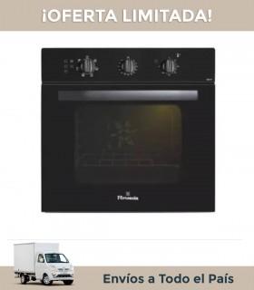 Horno Florencia 7857f Negro Manual 6 Funciones Triple Vidrio Electrico