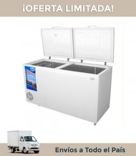 Freezer Horizontal Fam F510 Dg 496lts. Dual 2 Ptas.int.galvanizado Condens.dinamica