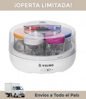 Yogurtera Yelmo Yg 1700 1,1 Lts. 7 Vasos De Vidrio 15w.