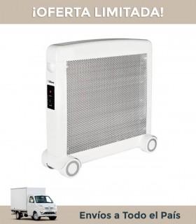 Radiador De Mica Liliana Cm700 Calority 1000/2000w. Blanco