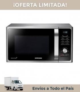 Microondas Samsung Mg23f3k3tas 23lts. Grill Plata