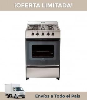 Cocina Escorial Nueva Master C/v Mg Inox 4+v+p 56 Cms