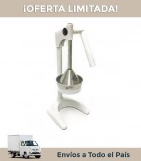 Exprimidor Exprim-o Blanco Manual Base Metal