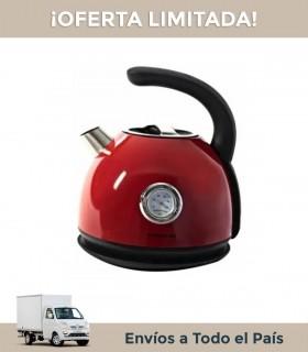 Pava Electrica Winco W700r Roja Retro