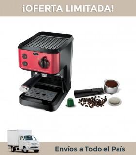 Cafetera Oster Ecmp65r Expresso 19 Bares 2 En 1 (tbm Capsulas)