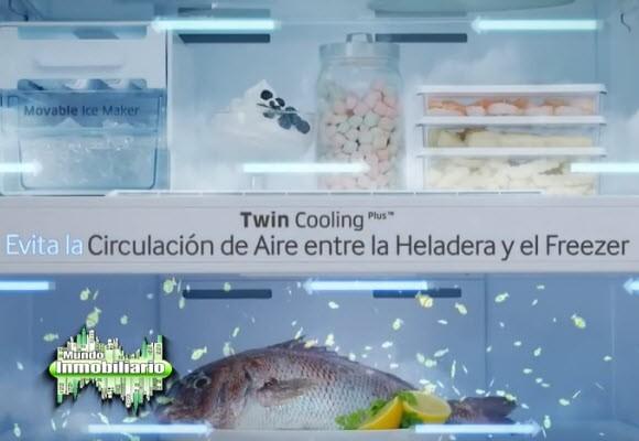 HELADERA SAMSUNG TWIN COOLING